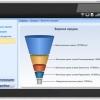 Приложение для планшетов на базе Android OS, интегрированное с Microsoft Dynamics CRM